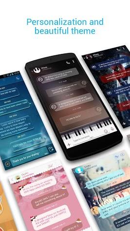 ZERO SMS - Fast & Free Themes Screenshot