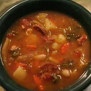 Portuguese Bean Soup.