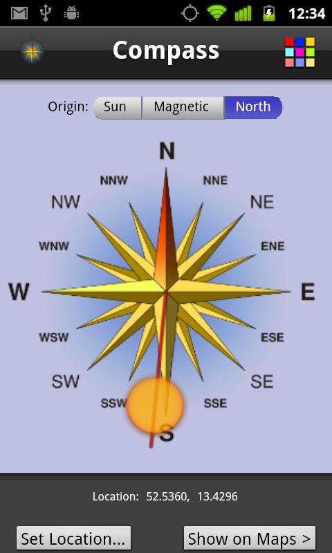Compass- screenshot