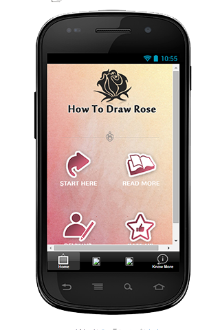 How To Draw Rose Guideline