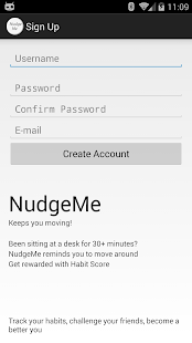 Nudge Me - Get up and Go!- screenshot thumbnail