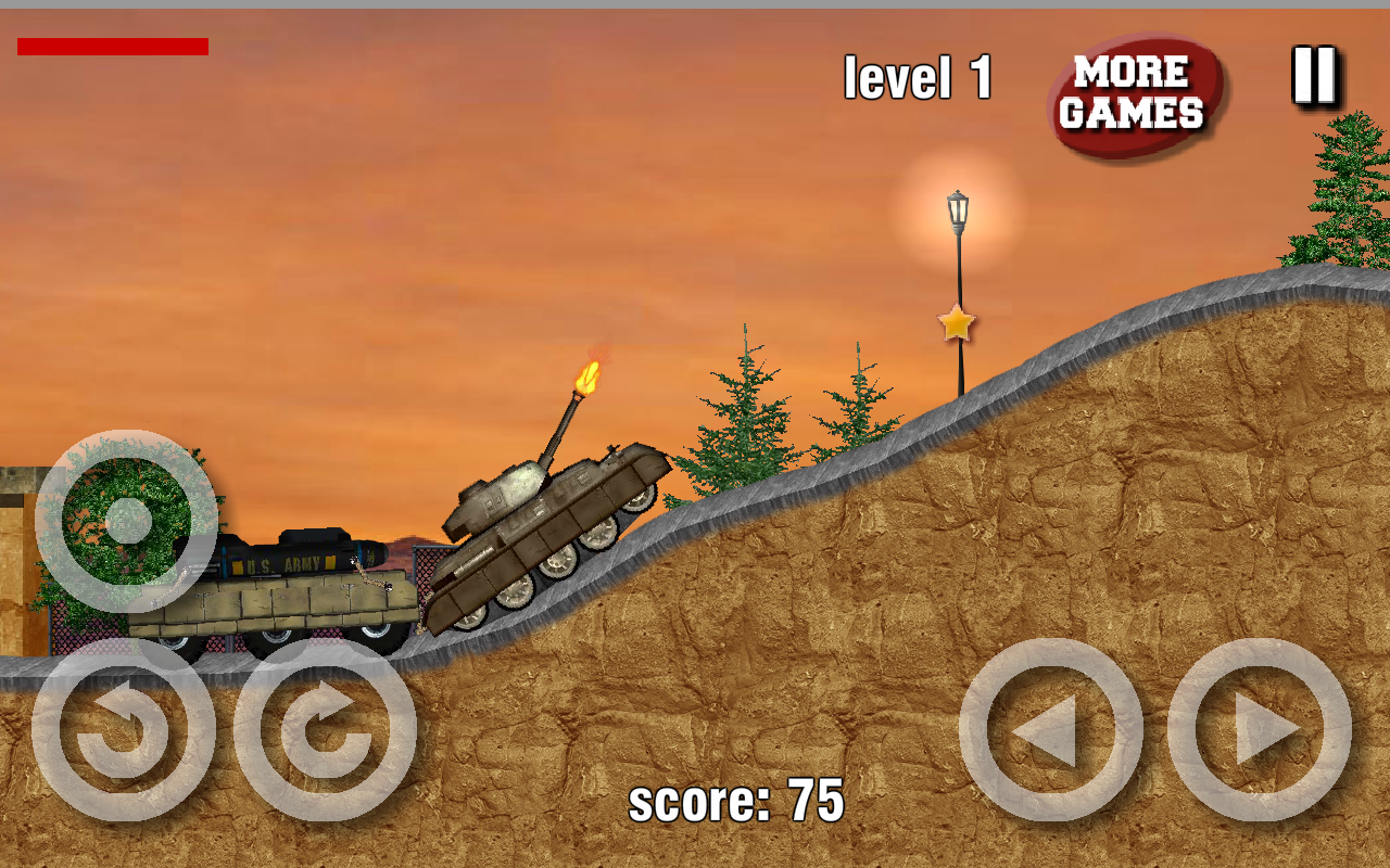 Tank Hero Wars - screenshot