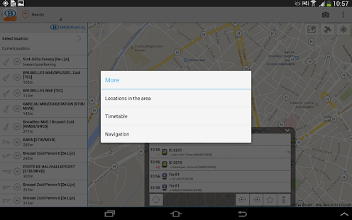 SNCB/NMBS - screenshot thumbnail