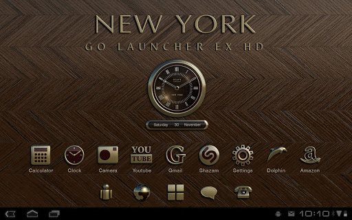 New York GO Launcher EX Theme v1.2 APK