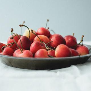White Chocolate Covered Cherries.