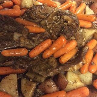 Irish Roast Beef with Guinness Au Jus
