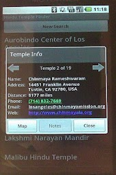 Hindu Temple Finder