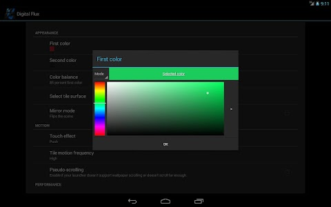 Digital Flux Live Wallpaper v1.2.1