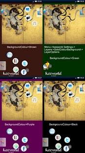 keeworld Theme:FujinAndRaijin Screenshot 1