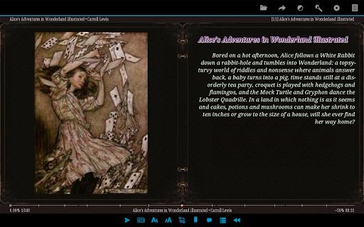 AlReader -any text book reader 1.911805270 screenshots 10