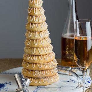 Kransekage - Danish Almond Cake.