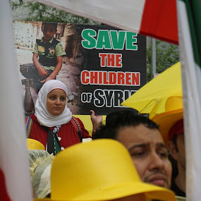 Save The Children Of Syria by VAM Photography - People Street & Candids ( iran, woman, protest, people, street photography,  )