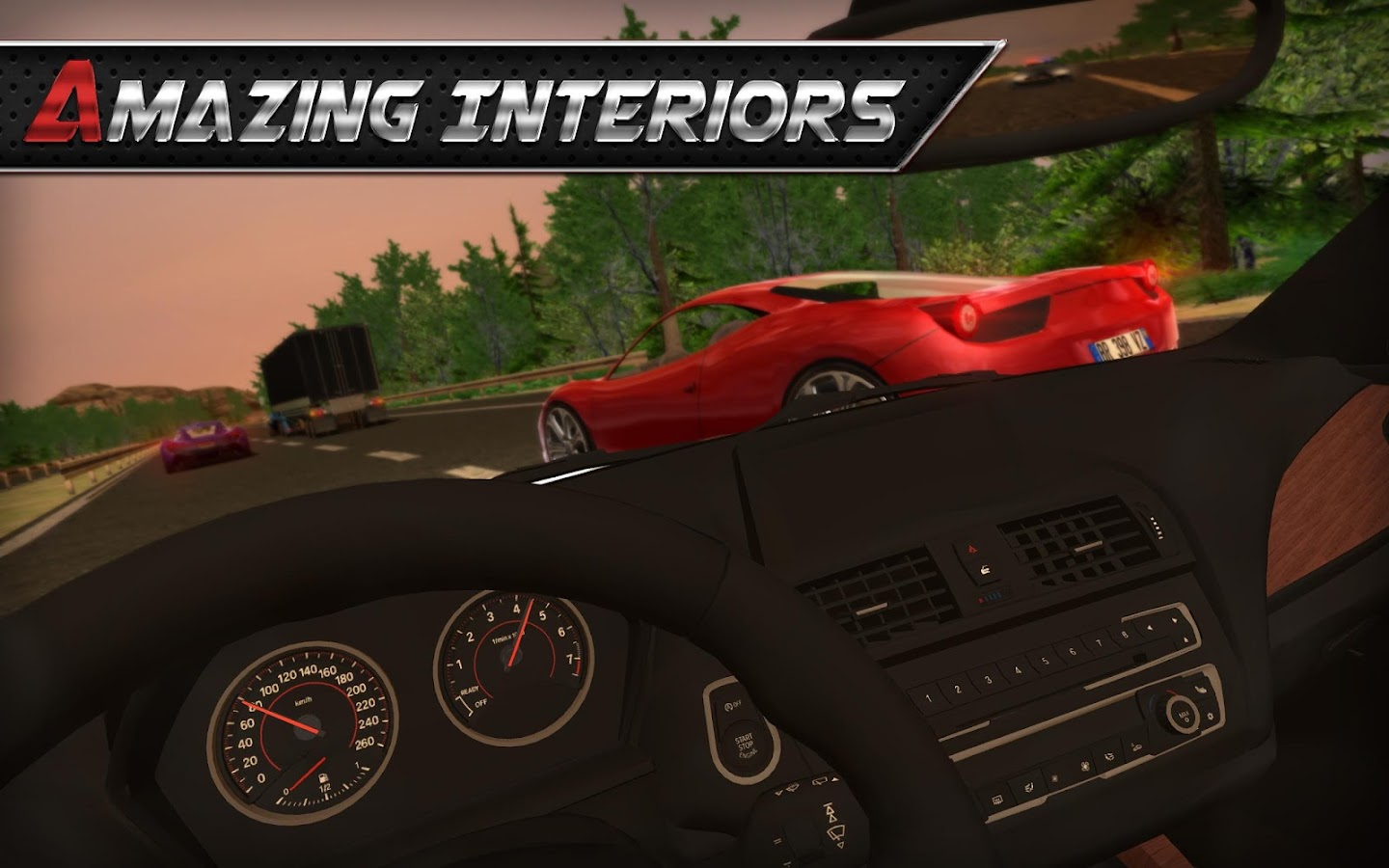 Screenshots of Real Driving 3D for iPhone