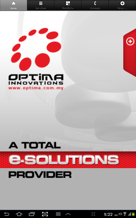Optima Innovations- screenshot