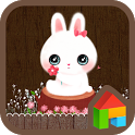 flower rabbit dodol theme icon