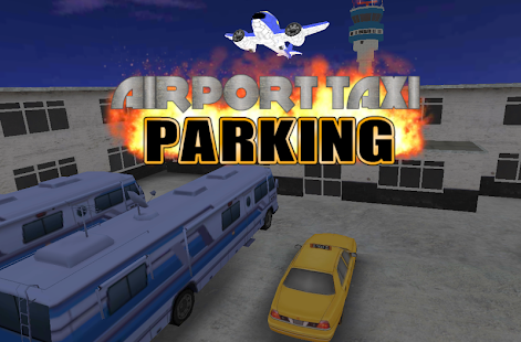 Airport 3D Taxi Parking- screenshot thumbnail