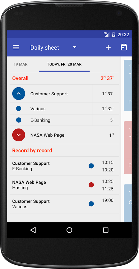Swipetimes Time Tracker Pro- screenshot