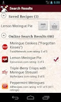 Screenshot of What's for Dinner? Recipes