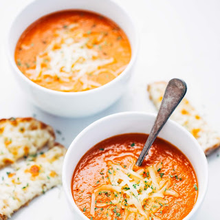 Simple Homemade Tomato Soup.