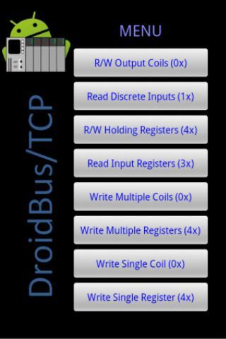 DroidBus/TCP Lite- screenshot