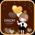 Dasom party go locker theme icon