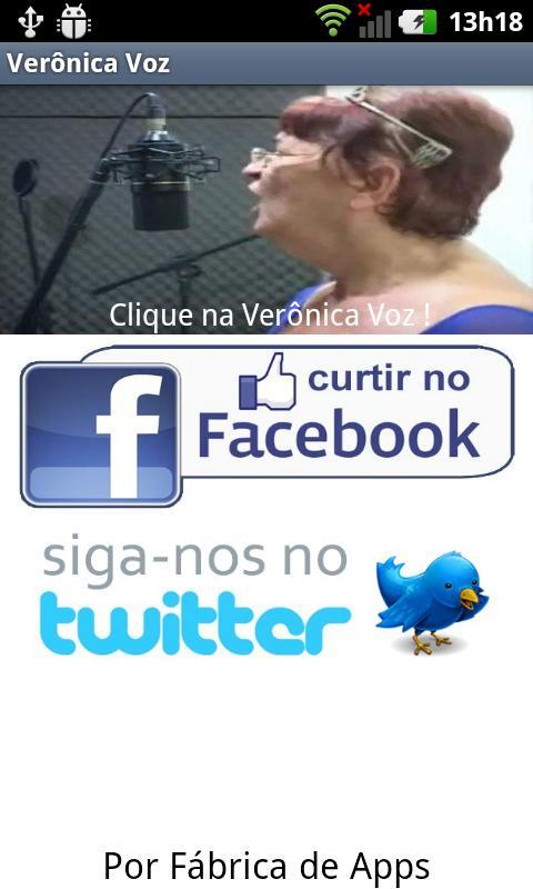 Verônica Voz - screenshot