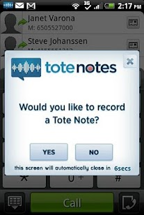 Tote Notes- screenshot thumbnail