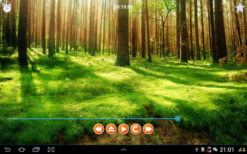 Nature Sounds Relax and Sleep Fitness app screenshot 1 for Android