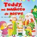 Teddy, the snowman icon
