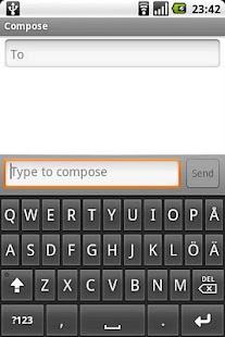 Scandinavian Keyboard- screenshot thumbnail