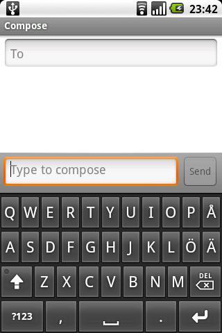 Scandinavian Keyboard- screenshot