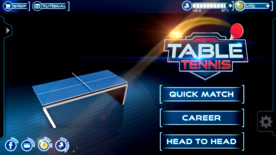 Table Tennis 3D Live Ping Pong- screenshot thumbnail