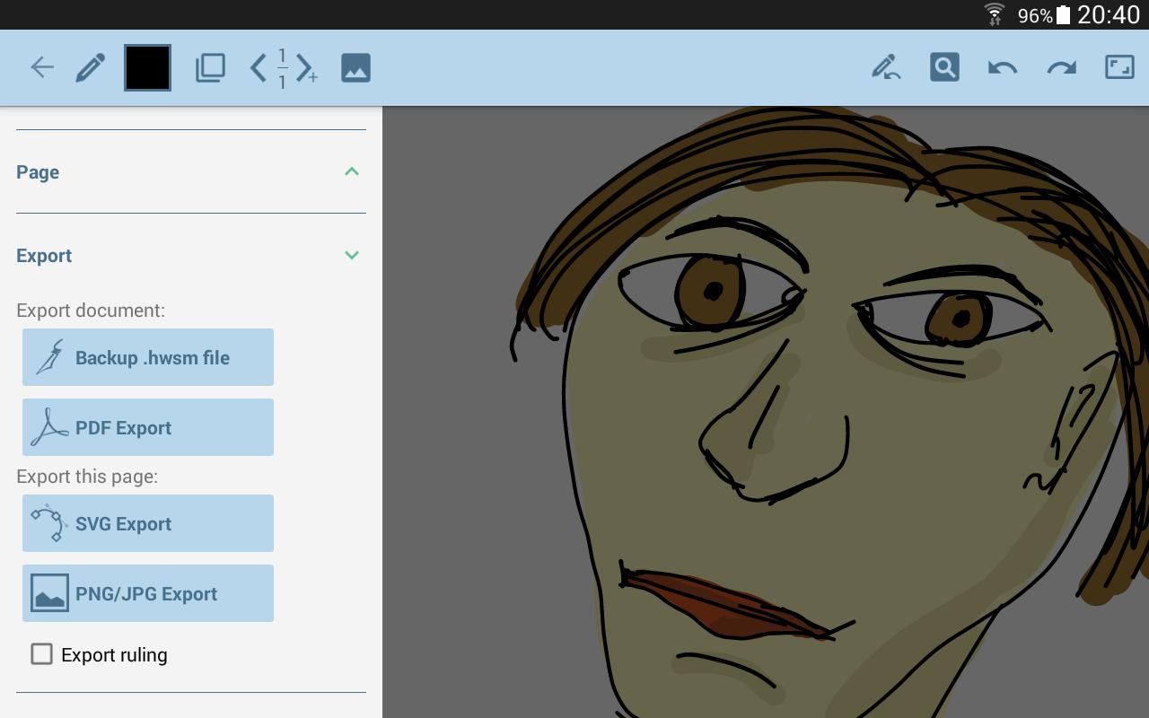 HandWrite Pro Note & Draw - screenshot