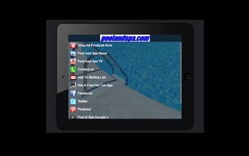 PoolAndSpa.com- screenshot thumbnail