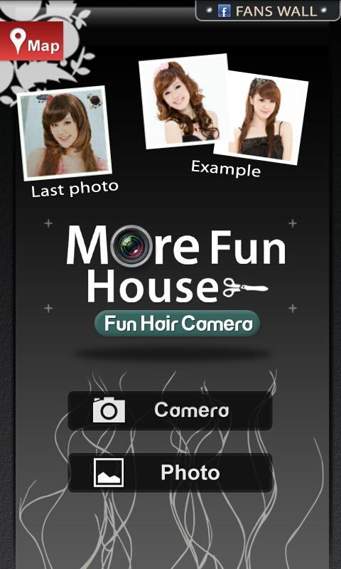 Fun Hair Camera - screenshot