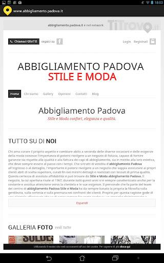 Abbigliamento Padova