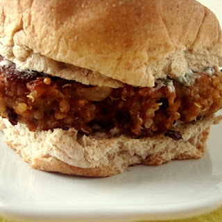 Quinoa-Black Bean Burgers