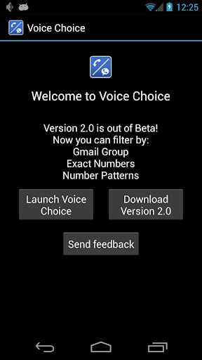 Voice Choice