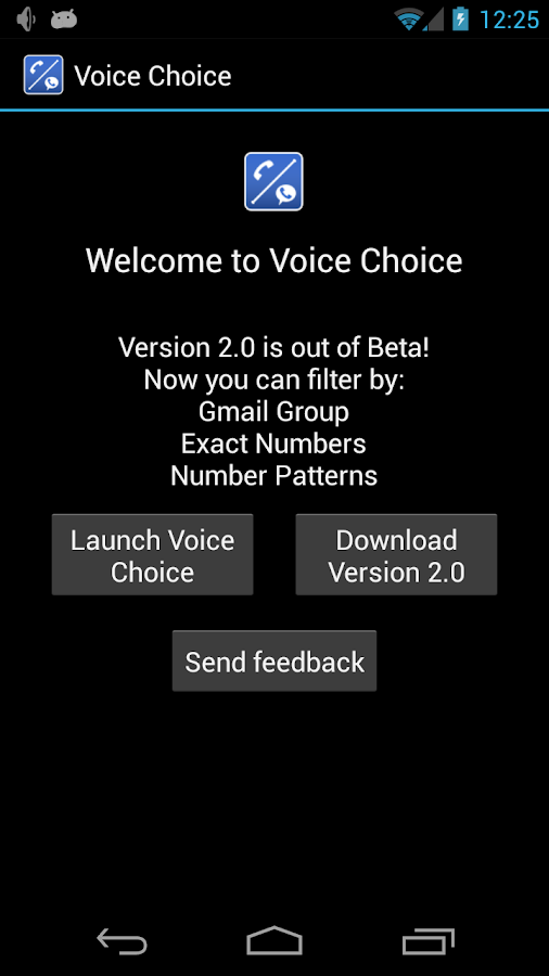 Voice Choice - screenshot