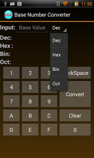Base Number Converter