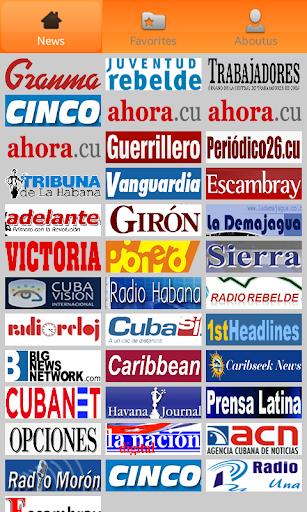 Cuba Noticias. Cuba Newspapers