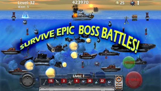 Epic Sea Battle Sub Pirates- screenshot thumbnail