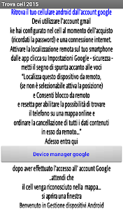 Trova cellulare - smartphone screenshot 1