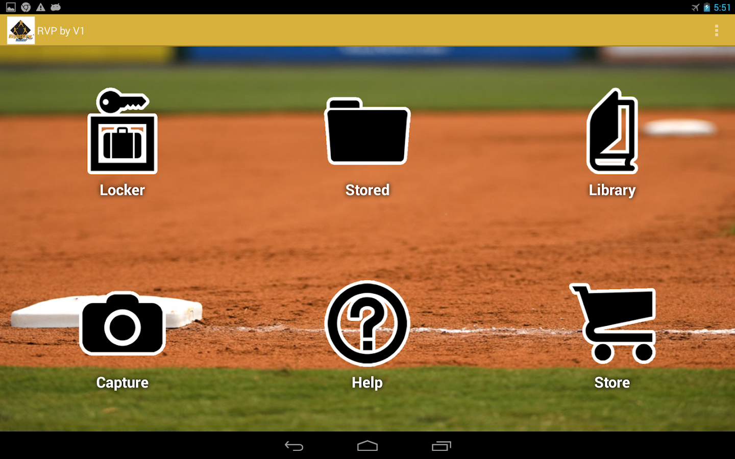 RVP:Baseball & Softball video - screenshot