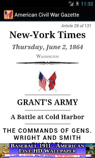 1864 June Am Civil War Gazette