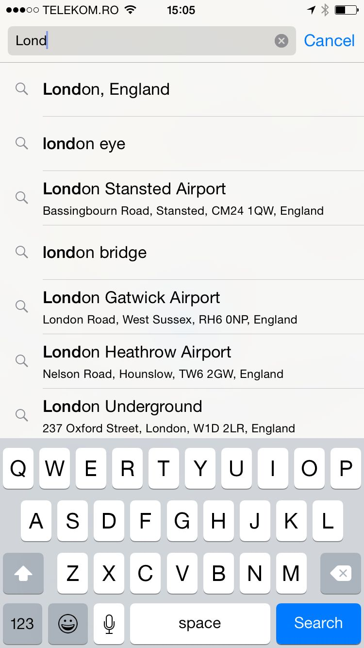 iPhone 6 - App Simulator