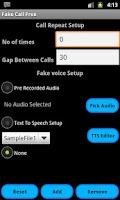 Screenshot of Fake Call Free