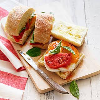Caprese Sandwich.
