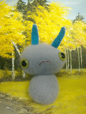 Grumpy Gus: Awww. Come on Gus! Cheer up! This little grumpster is down in the dumps, but can still make you smile.  *SOLD*