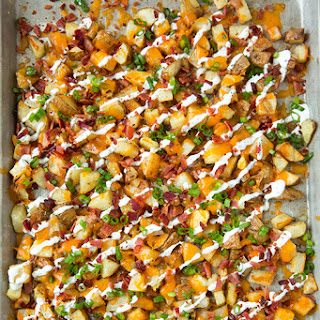 Cheesy Bacon Ranch Roasted Potatoes